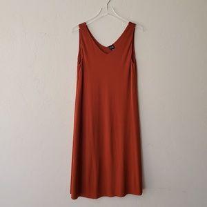 Eileen Fisher//100% Silk Tank Dress